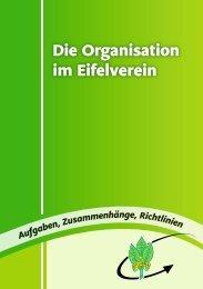 Die Organiation im Eifelverein