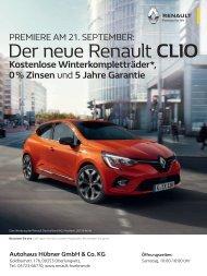 Renault Autohaus Hübner - 14.09.2019