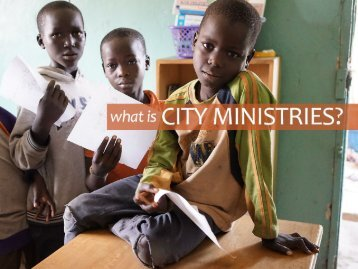 What Is City Ministries e-Book