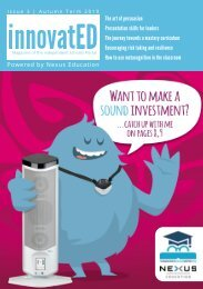 innovatED Magazine - Issue 3 - Autumn 2019