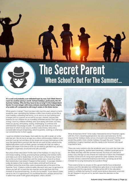 innovatED Magazine - Issue 3 - Autumn 2019