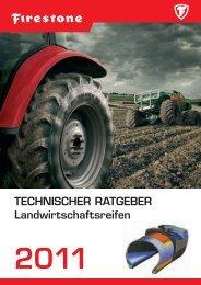 TECHNISCHER RATGEBER Landwirtschaftsreifen - Firestone