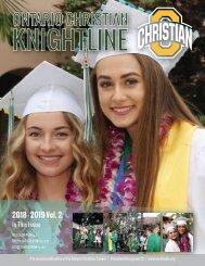 Knightline, 2018-2019 Vol. 2 (Summer)
