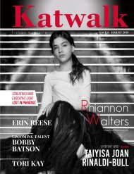 Katwalk Fashion Magazine Issue 6 August N2019