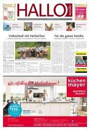 Hallo-Allgäu Kempten, Oberallgäu, Westallgäu vom Samstag, 14.September