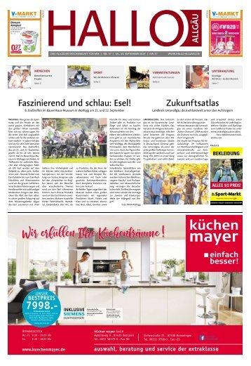 Hallo-Allgäu Memmingen vom Samstag, 14.September