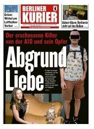 Berliner Kurier 13.09.2019