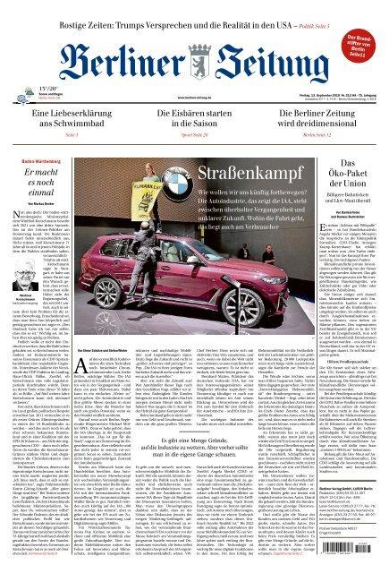 Berliner Zeitung 13.09.2019