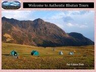 Adventurous Bhutan Trekking Tour