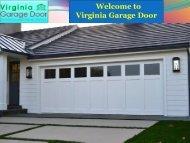 Honest Garage Door Services Virginia
