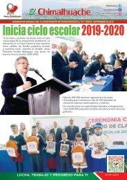 El Chimalhuache | Inicio ciclo escolar 2019-2020