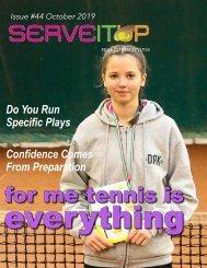 Serveitup Tennis Magazine #44