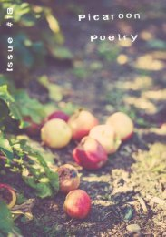 Picaroon Poetry - Issue #18 - September 2019