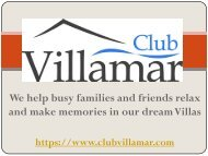 holiday villas to rent in spain