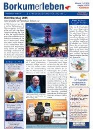 31.07.2019 / Borkumerleben - Die Wochenzeitung