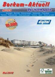 Mai   2018   Borkum-Aktuell - Das Inselmagazin