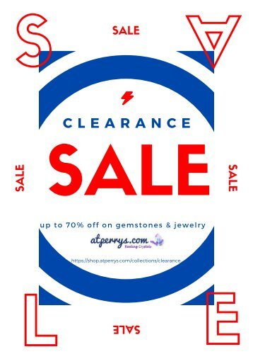 AtPerry's Healing Crystas - Clearance Sale - Gemstones & Jewelry up to 70% OFF