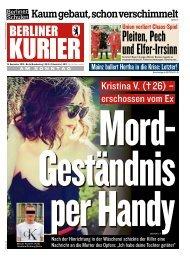 Berliner Kurier 15.09.2019