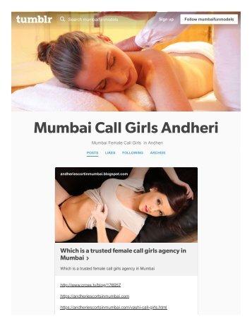 Elite Independent Female Model Escorts Service in Mumbai