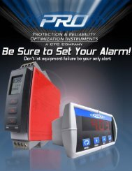 ACOEM CTC PRO Protection & Reliability Optimisation Instruments brochure