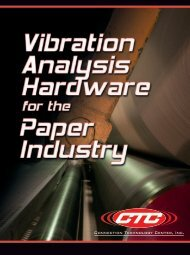ACOEM CTC Vibration Analysis Hardware for the Paper Industry brochure