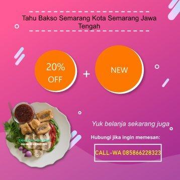 CALL-WA 0858-6622-8323, Tahu Bakso Semarang Kota Semarang Jawa Tengah