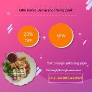 CALL-WA 0858-6622-8323, Tahu Bakso Semarang Paling Enak