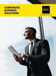 epic - Corporate Business Solutions