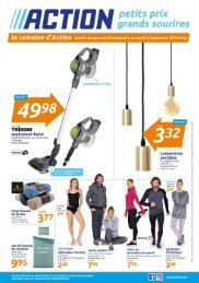 Magasin Action catalogue 18-24 sept 2019