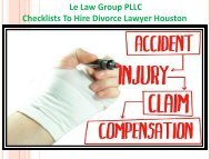 Checklists To Hire Divorce Lawyer Houston-converted