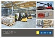 Max Urech AG - Katalog