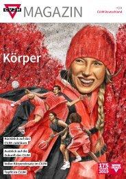 CVJM-Magazin 4-2019 (Deutschland-Ausgabe)
