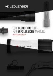 LEDLenser Werbeartikel-Katalog 2019