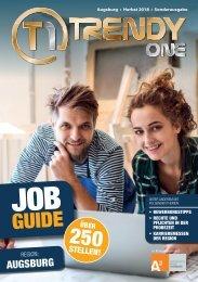 TRENDYone | Job Guide Herbst 2018 | Region Augsburg