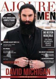 AJOURE´ Men Magazin Oktober 2019