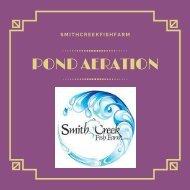 Choose a Pond Aeration System _ Pond Aeration _ SmithCreek