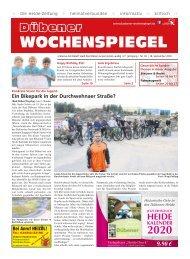 Dübener Wochenspiegel - Ausgabe 18 - Jahrgang 2019