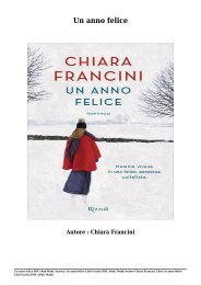 Scarica Un anno felice Libri Gratis (PDF, ePub, Mobi) Di Chiara Francini