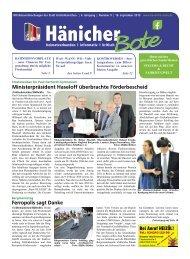 Hänicher Bote | September-Ausgabe 2019