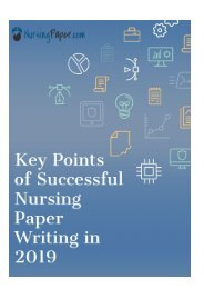 Are you looking for some help with nursing papers? Don't waste your time and follow this link https://www.nursingpaper.com/