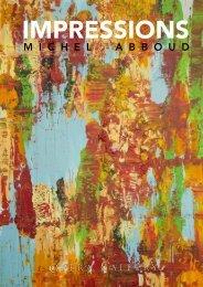 Michel ABBOUD - Impressions : Sept. - Oct. 2019