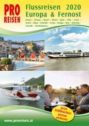 Flussreisen Flugblatt 2020