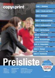 CPC Preisliste Broschüre 2017