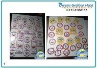Revista stickers + invitaciones pdf