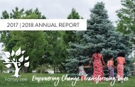 Family Tree FY18 Annual Report