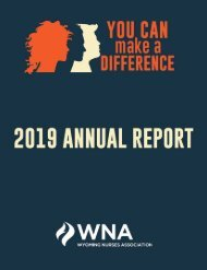 2019 Wyoming Annual Book of Reports