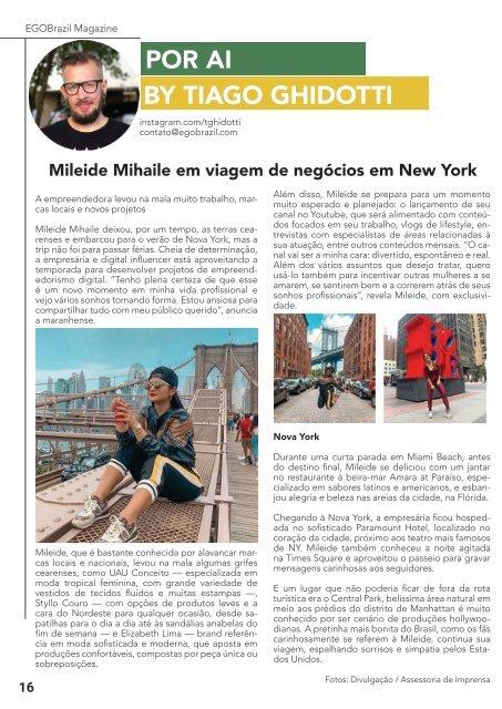 EGOBrazil Magazine - Fernando Toledo - Setembro 2019