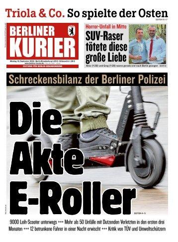 Berliner Kurier 16.09.2019