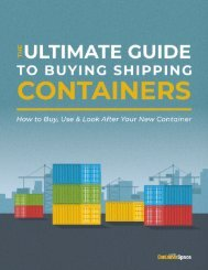 Buying Shipping Containers: The Ultimate Guide