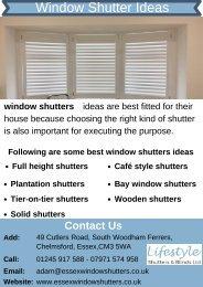 Best Window Shutter Ideas